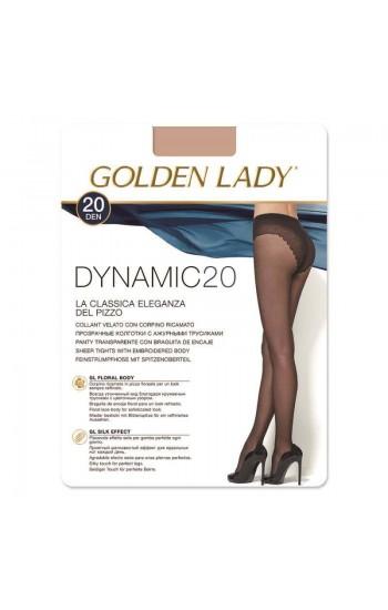 ΚΑΛΣΟΝ ΕΛΑΣΤΙΚΟ DYNAMIC 20 GOLDEN LADY