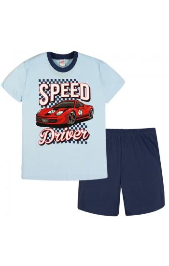 Πυτζάμα Παιδική  Minerva αγορι speed driver