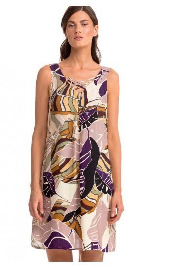 Φορεμα θαλασσας Vamp Viscose