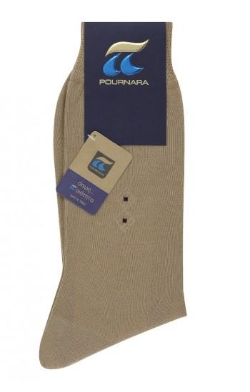 Κάλτσα Ανδρικη βαμβακερη με σχεδιο ΠΟΥΡΝΑΡΑ